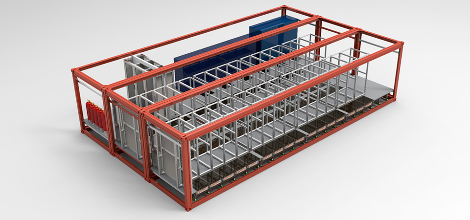 Dcms Modular Data Center With Iso Form Factor